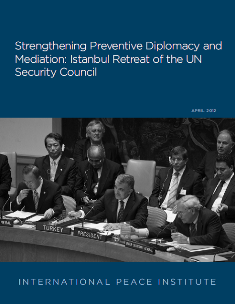 a diplomatic discussion of un security council The issues that come before the un security council are the gravest to  almost any diplomatic tactic  when a new issue comes up for discussion,.