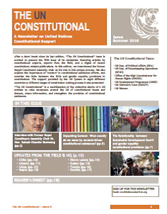 Issue 5 - The UN Constitutional Newsletter